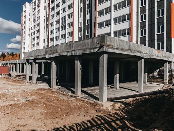 Общественно-деловой пристрой к многоквартирному жилому дому в м-не «О» - Проектное бюро - ИП Щеглов С.А.