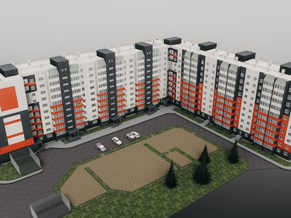 Многоквартирный жилой дом в м-не «И» - Проектное бюро - ИП Щеглов С.А.