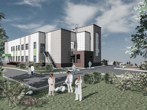 Здание медицинского центра - Проектное бюро - ИП Щеглов С.А.