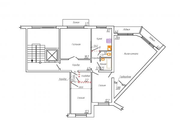 Перепланировки квартир, жилых и нежилых помещений - Проектное бюро - ИП Щеглов С.А.